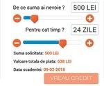 Aplicatie mobila pentru credit online